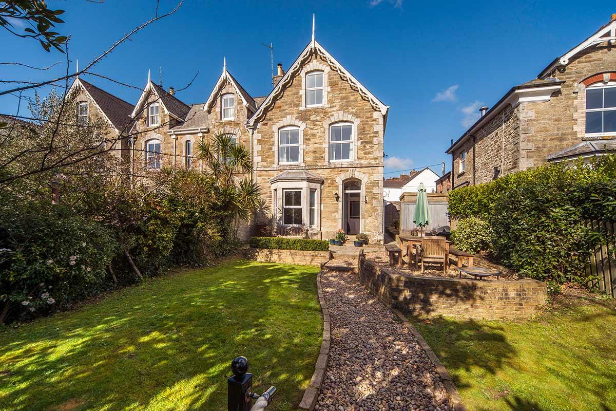 1 Belmont Villas, luxury Victorian home for sale in Truro, Cornwall