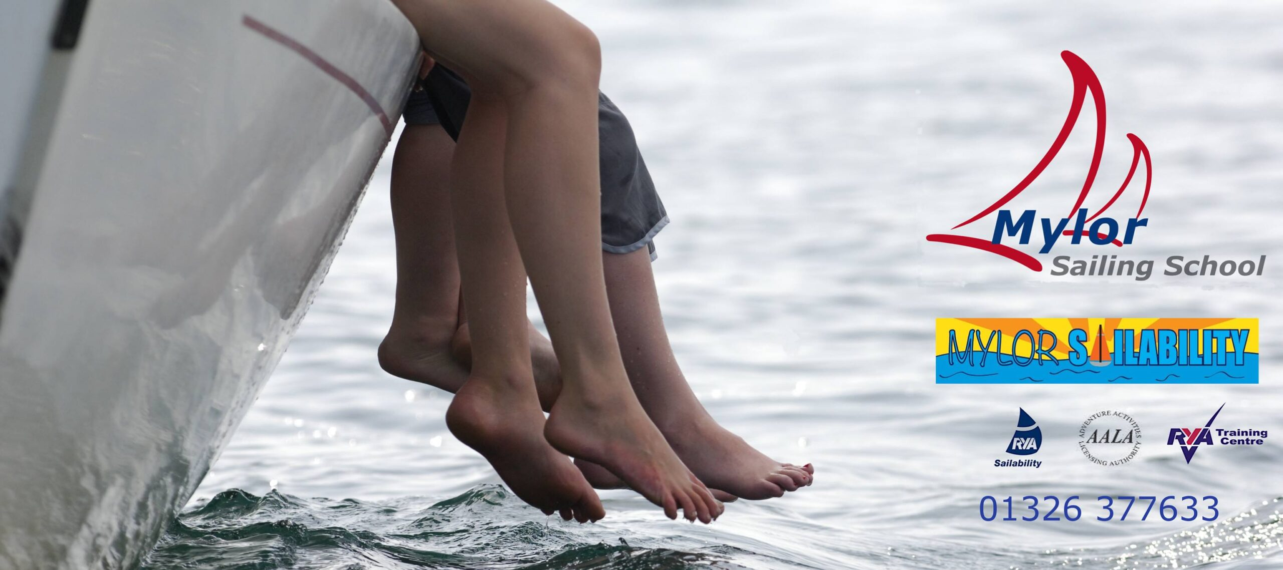 Shore Partnership celebrate new partnership with Mylor Sailability