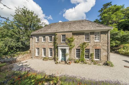 Lime Tree House, a Georgian property for sale near Penryn Cornwall.